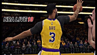 NBA LIVE 19 Lakers vs Clippers Gameplay!!