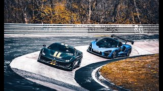 Sharing the 488 Pista / Nordschleife BTG experience with Tim.
