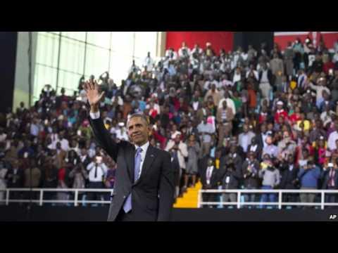 VOA Burmese Radio News on 27 July 2015,Obama Kenya visit   ဗီြအိုေအသတင္းဌာန