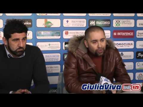 Conferenza stampa del Presidente del Giulianova Calcio Antonio Esposito