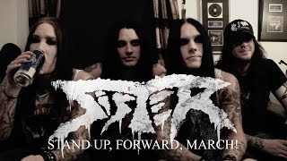 SISTER - studio video for 'Stand Up, Forward, March!