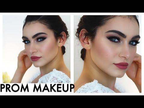 Prom Makeup // Pretty Slight Cut Crease Photo Friendly Makeup   Ruby Golani