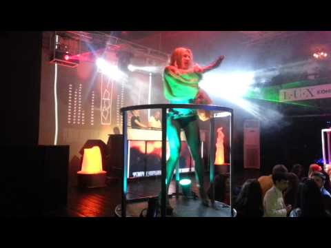 go-go dance freestyle/ hard rock sofa/ клуб Воздух