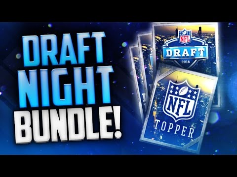 Draft Night Bundle! Top Prospect Topper! Madden Mobile NFL Draft Promo