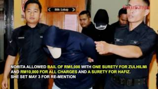 Two charged with money laundering totaling RM2.7 million