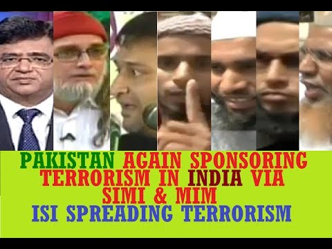 Pakistan agressively Sponsoring Jihadi Terrorism in India after Modi chosen as new PM, SIMI Bhopal