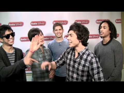 Allstar Weekend Talks Sonny With A Chance on Radio Disney's Celebrity Take with Jake