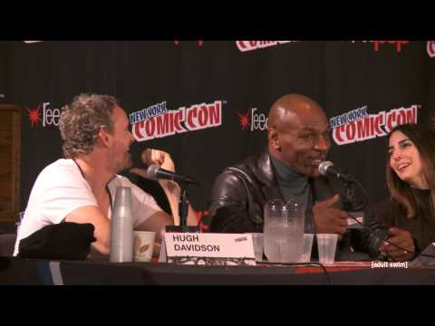 Mike Tyson Mysteries Panel NYCC 2014 | Mike Tyson Mysteries | Adult Swim