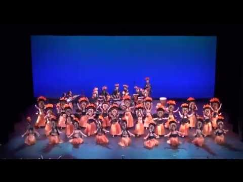 Aloha Hula Dance Studio Ho'ike 2014 Tiare Ote'a, Apetahi Ote'a, Lilikoi Aparima