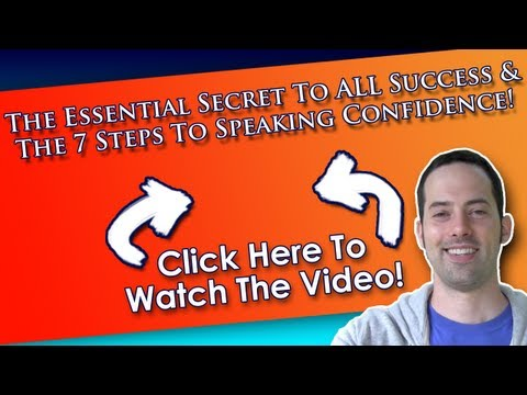 The 7 Steps To English Speaking Confidence – The Essential Secret To ALL Success – EnglishAnyone.com