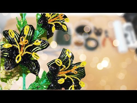 Цветы из бисера мастер класс - YouRepeat