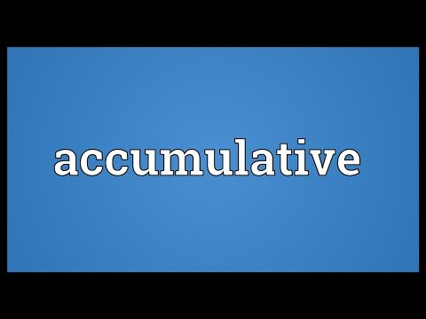 Header of accumulative