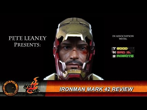 Hot Toys Iron Man 3 MK42  MMS197 Die Cast Review