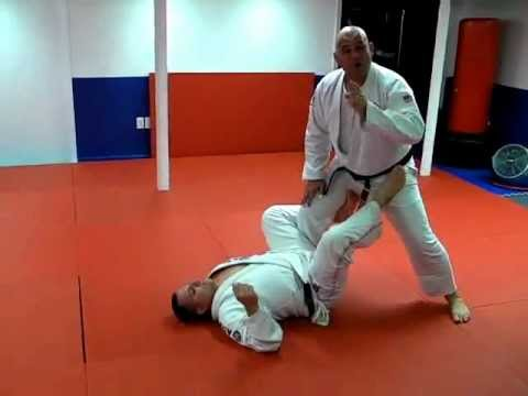 De La Riva Hook Defense and BJJ Guard Pass - Brazilian Jiu-Jitsu Technique Image 1