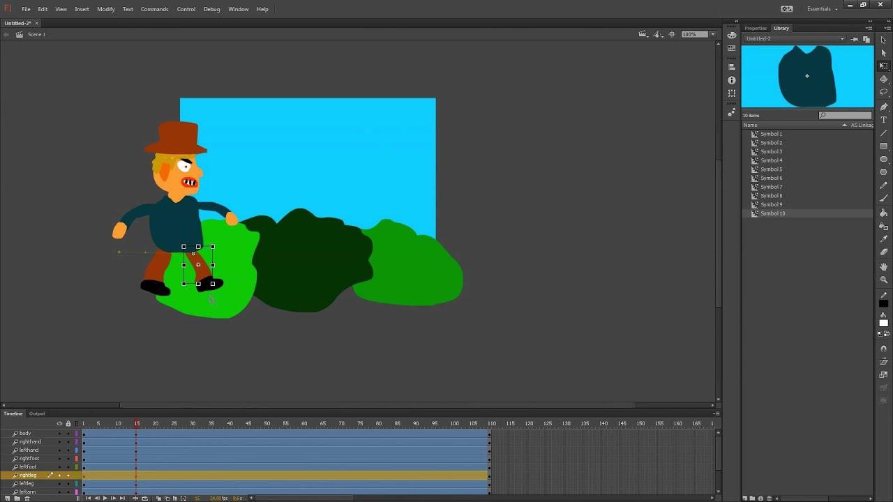 flash cc animation