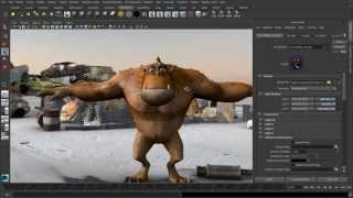 Maya 2014 - Next-gen viewport display and shading