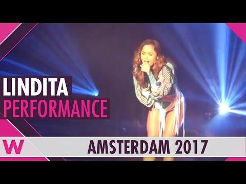 "Lindita ""World"" (Albania 2017) LIVE @ Eurovision in Concert 2017"
