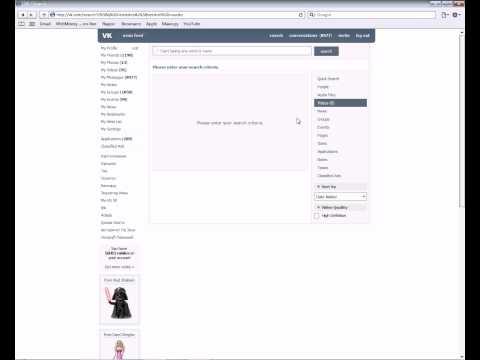 Social network vk.com brief overview
