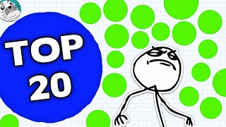 Agar.io TOP 20 Moments of the Month #3 - Best Moments in Agario