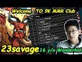 23savage - [Troll Warlord] Welcome To 9K MMR Club 16 Years old WonderKid TOP1 SEA   Dota 2 7.21 b