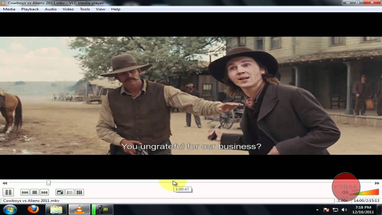 how to change video language in vlc
