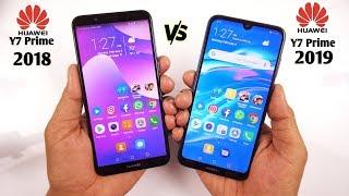 Huawei Y7 Prime 2019 vs Y7 Prime 2018 Speed Test & Comparison [Urdu/Hindi]