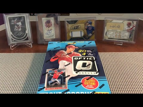 2018 Optic Baseball Hobby Box. Hot Box!!!