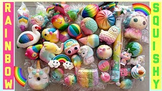 🌈 RAINBOW SQUISHY COLLECTION 🌈