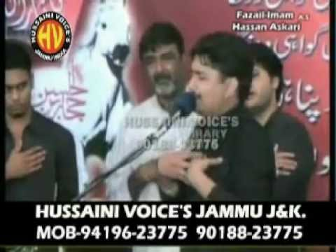 Syed Raza Abbas Zaidi (khowab-e-sughra S.w) Live Noha Khowani In Karachi 7th Rabi-ul-awal 2010 video