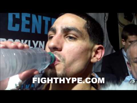 DANNY GARCIA ON KO OF ROD SALKA THERES NO EASY FIGHTS IN BOXINGI DID WHAT I HAD TO DO