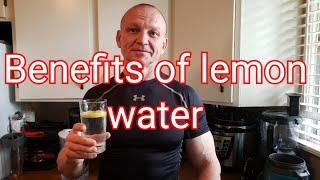 Benefits of Lemon Water #fitatanyage