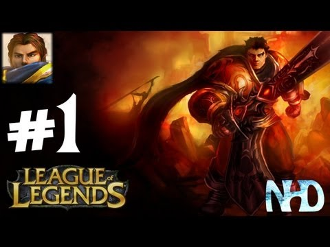 League of Legends 5v5 Garen #1 - 500 Subs! Thank You So Much!