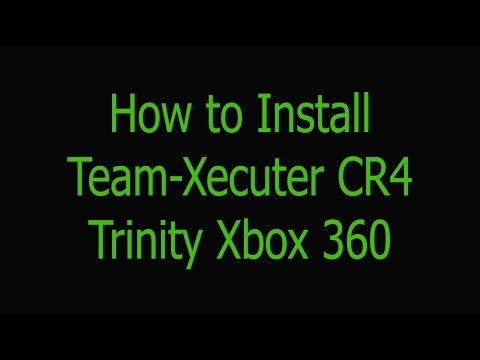 Team-Xecuter CR4 Trinity Xbox 360 Slim Wire Install   NO QSB