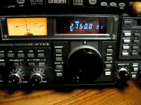 HAARP on Shortwave 2750khz