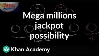 Mega millions jackpot probability   Probability and combinatorics   Precalculus   Khan Academy