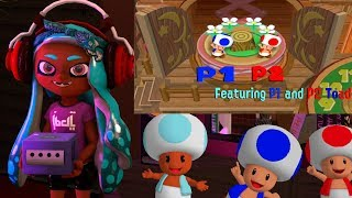 Mario Party 5 - All 2v2 Minigames TAS Feat 1P Toad and 2P Toad