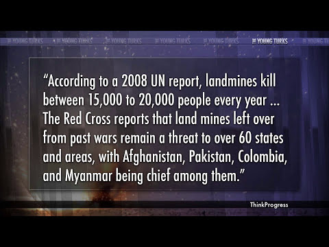 US Gives Up Landmines, Except For Where They're Still Needed
