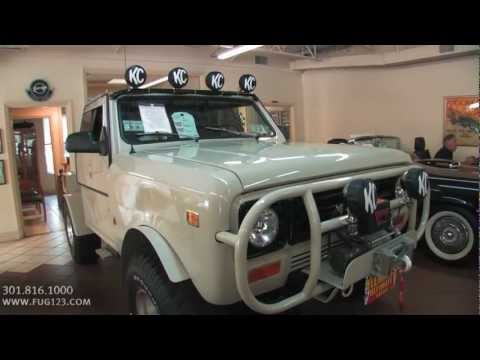 1979 International Harvester Scout II TEST DRIVE FOR SALE flemings ultimate garage
