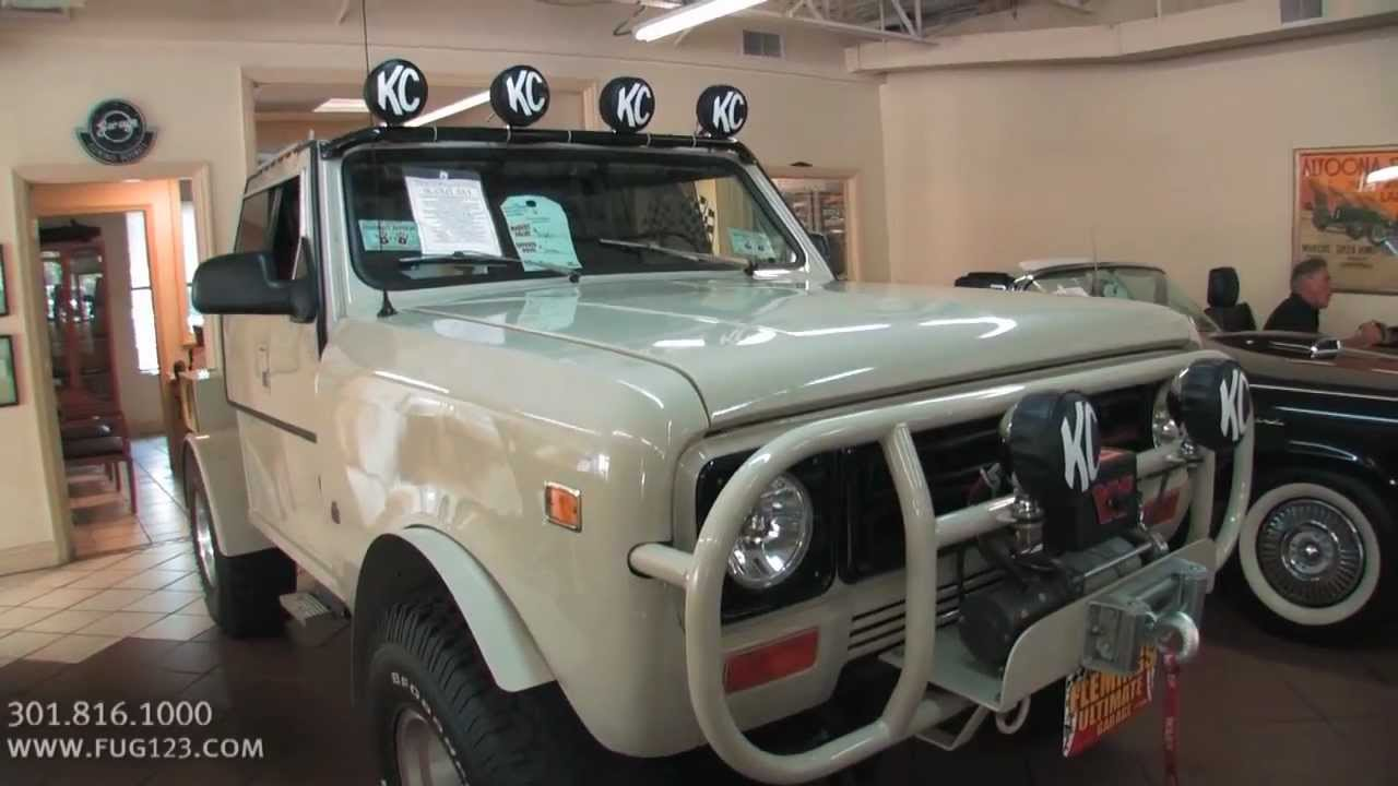 1979 international harvester scout ii for sale with test