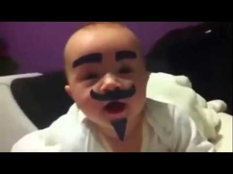 Funny!!! Leave The Baby Alone With Dad