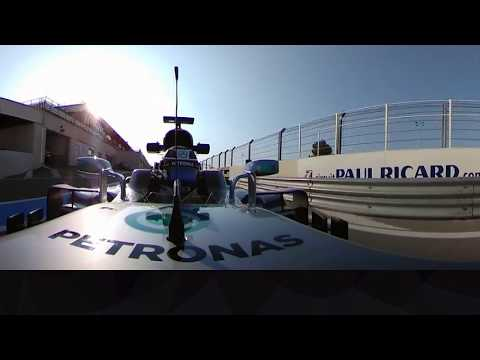 Onboard With Bottas At Paul Ricard (360 Video) | French Grand Prix