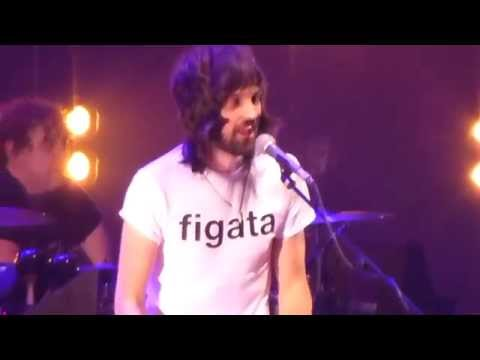 "Sergio Pizzorno sings ""Happy Birthday"" to his wife (Kasabian Milano 1/11/14)"