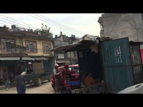 Nepal Earthquake - Earthquake Affected People in Shantinagar April 26, 2015