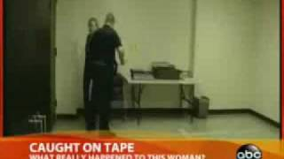 Cop caught on Tape: Police Beat a Woman almost to Death