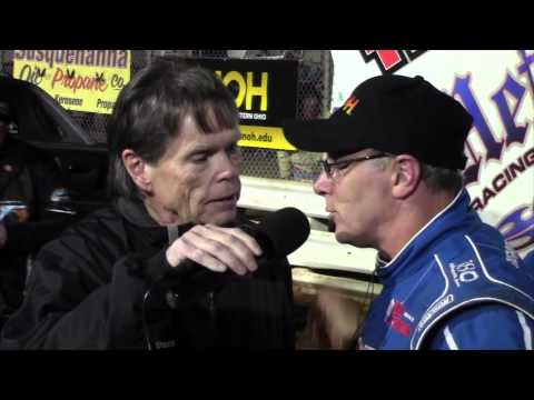 Williams Grove Speedway All Star Sprint Car Victory Lane 4-24-15