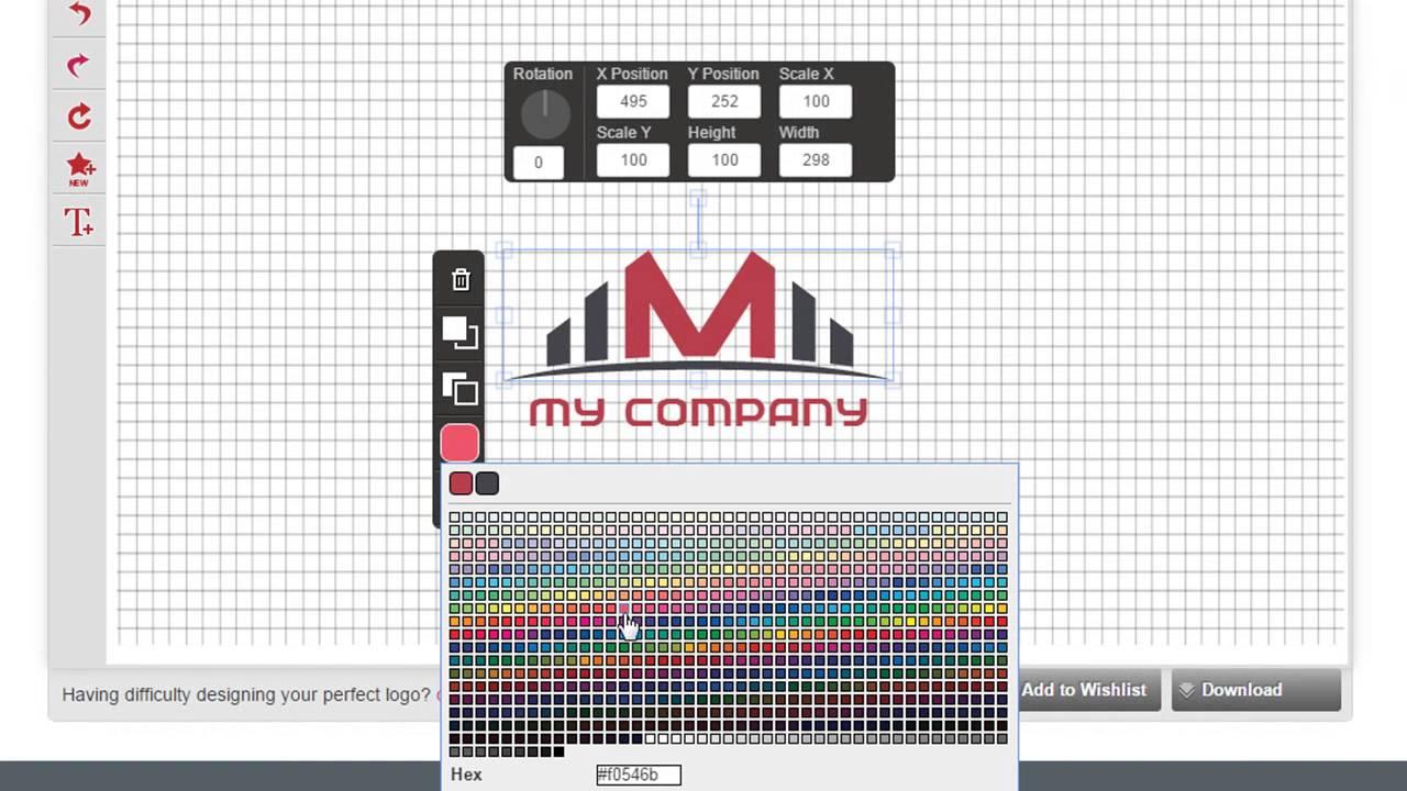 I need help designing a logo