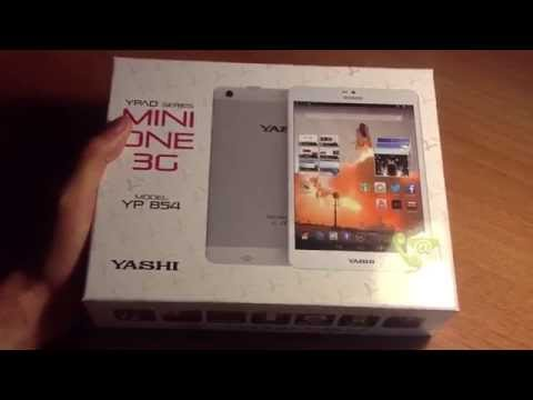 Unboxing Yashi YPad Mini One 3G Tablet 8 pollici Android