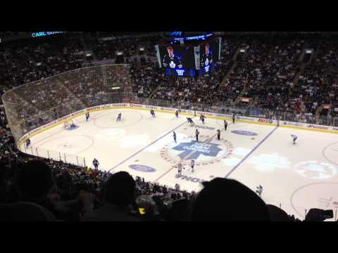 Canadiens vs. Maple Leafs starting lineups *HD*