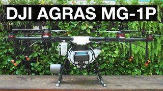 DJI Agras MG-1S: drone phun thuốc trừ sâu Nông nghiệp 4.0, phun 1 héc ta/ 10 phút