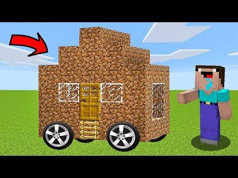 НУБ НАШЕЛ ДОМ НА КОЛЕСАХ В Майнкрафте! Minecraft Мультики Майнкрафт троллинг Нуб и Про